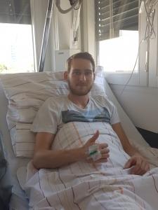 Manuel Heueck musste an der Leiste operiert werden und fällt mehrere Wochen aus.