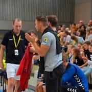 Manuel Mühlpointner freut sich auf das erste Punktspiel als SG-Coach. Bild: Barth