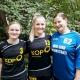 Julia, Pauline und Lisa verstärken unsere Landesliga-Frauen.