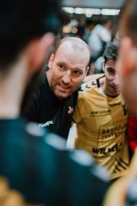 Manuel Mühlpointner rechnet mit einem schweren Heimspiel gegen den TV Mundelsheim. Bild: RZ Photographie