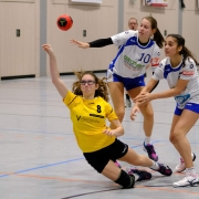 Natalie Lumm zeigte ein Klasse Spiel und erzielte 6 Treffer!