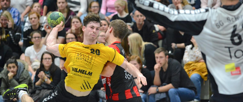 Sascha Dobric und die SG Weinstadt hatten im Derby gegen Schorndorf zum ersten Mal in dieser Saison das Nachsehen. Foto: Günter Barth