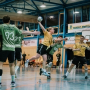 Manuel Künkele und sein Team wollen gegen den TSV Schmiden 2 den nächsten Sieg einfahren. Foto: RZ Photographie