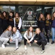 Die Mannschaft am Olympiazentrum Vorarlberg in Dornbirn