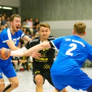Philip Stäudle und sein Team wollen gegen Schwaikheim alles geben, um die Punkte in Weinstadt zu behalten.