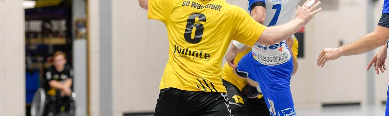 Wie im Hinspiel schon hat die SG Weinstadt gegen die HSG Schönbuch gewonnen. Archivfoto: HWT